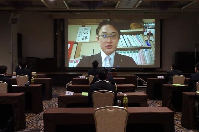 「いわて政治塾」(講師:鈴木俊一 衆議院議員)が開催されました